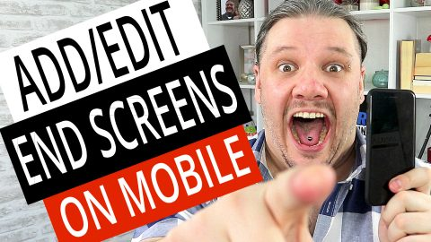 How To Add Edit End Screens on Mobile Phone (Android & iPhone), alan spicer,how to make a youtube end card,how to make youtube end screen for your videos,end screen,end card,youtube endscreen,youtube end card,youtube end screen,new end card,youtube end screens,add end cards,edit end cards,add end screens,edit end screens,edit end screens on mobile,add end screens on mobile,how to add end screens to youtube videos on mobile,how to add end screen on mobile,end screen on mobile,how to add end screen with android,endscreen