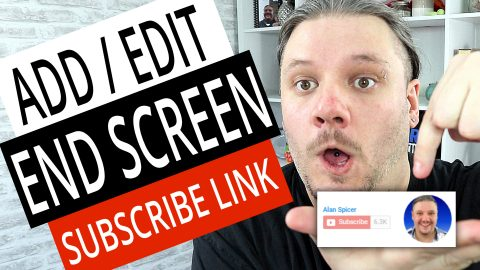 alan spicer,How To Add End Screen on YouTube Videos,how to add end screen on your youtube videos,how to add subscribe button on end of video,how to add subscribe button on video,how to add subscrine on end screen,subscribe end screen,youtube subscribe end screen,youtube end screen subscribe button,add subscribe link on end screen,subscribe link,youtube subscribe link,how to add end screen,add end screen,add end screen on youtube,add youtube end screen,end screen
