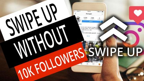 How to Get the Instagram SWIPE UP Feature WITHOUT 10K Followers (4 QUICK STEPS) 1